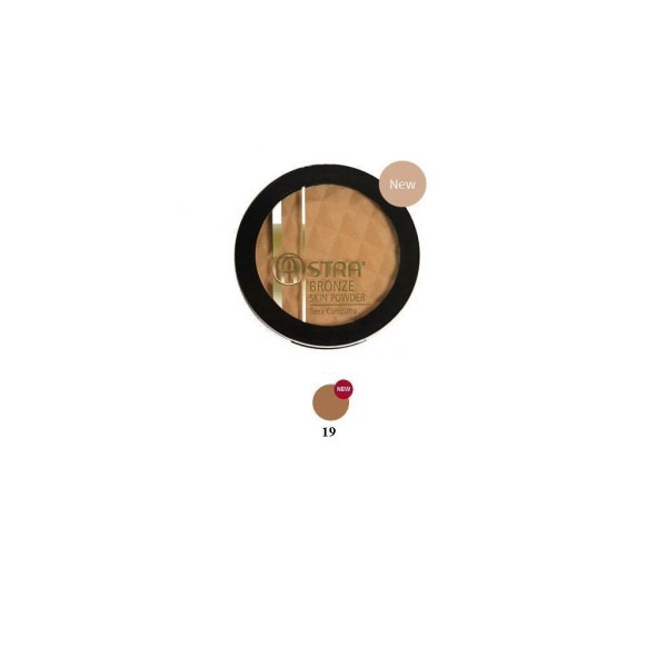 Astra  Bronze skin powder  terra abbronzante compatta 19 nude perfect