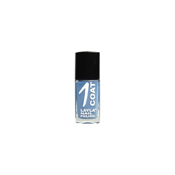 Layla  1 coat nail polish  smalto 19 miami ice