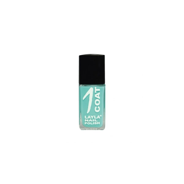 Layla  1 coat nail polish  smalto 16 grasshopper