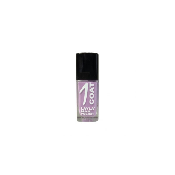 Layla  1 coat nail polish  smalto 2 orchid radiant
