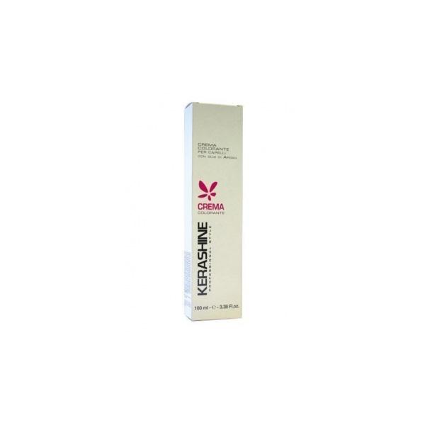 Kerashine  Crema colorante per capelli con olio di argan 100 ml 65m biondo scuro mogano