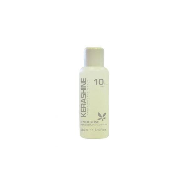 Kerashine  Emulsione ossidante per colorazioni e schiariture capelli 10 volumi 250 ml