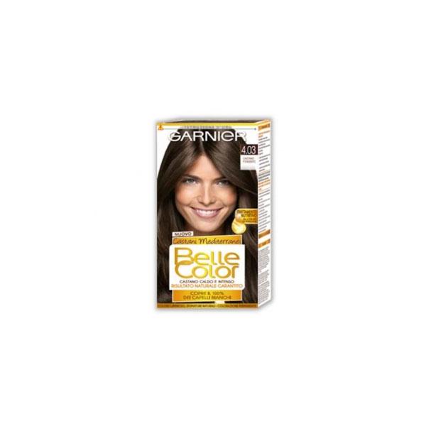 Garnier  Tinta per capelli colore permanente belle color castani mediterranei 403 castano luce