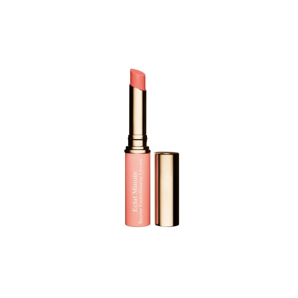 Clarins  Eclat minute baume embellisseur levres  rossetto 02 coral