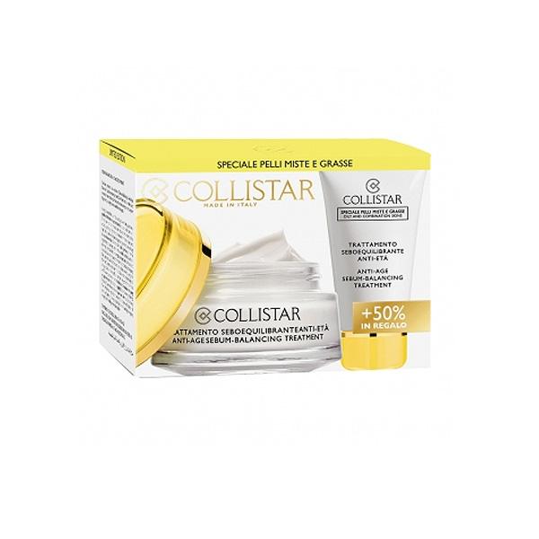 Collistar  Cofanetto pelli miste grasse  trattamento seboequilibrante antiet 50 ml  25 ml