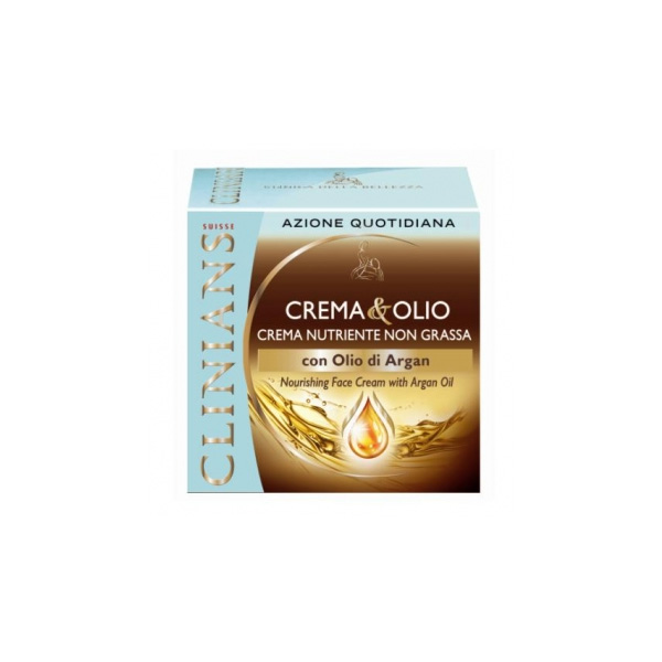 Clinians  Crema antirughe allolio di argan 50 ml