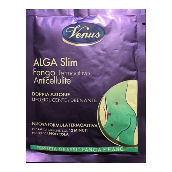 Venus Alga Slim fango termoattivo anticellulite Anti Rotondita rimodellante 80 gr