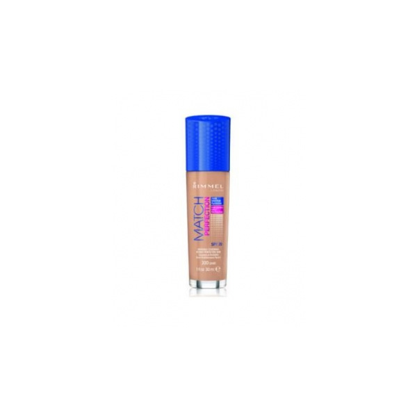 Rimmel  Match perfection foundation  fondotinta liquido 300 sand