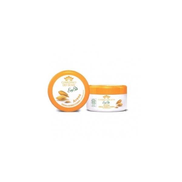 Giardino dei sensi  Ecobio avena  crema burro corpo eco biologica 200 ml