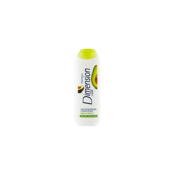 Dimension  By lux shampoo con olio di avocado per tutti i tipi di capelli 250 ml