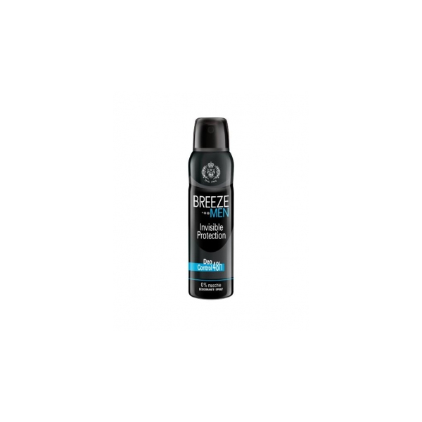Breeze  Men invisible protection  deodorante spray 150 ml