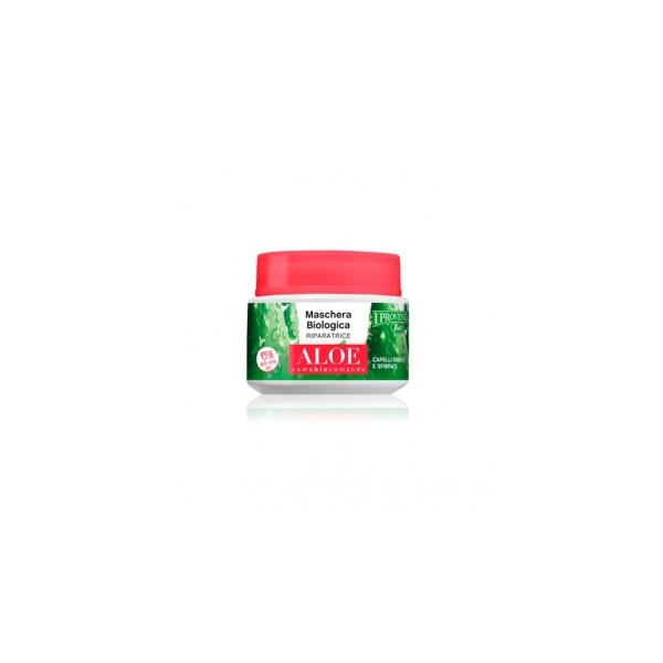 I Provenzali  Maschera biologica riparatrice aloe capelli deboli e sfibrati 200 ml