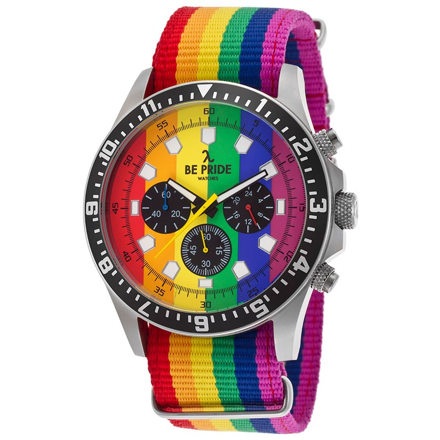 Orologio unisex Be Pride BE PRIDE BEPRIDE01