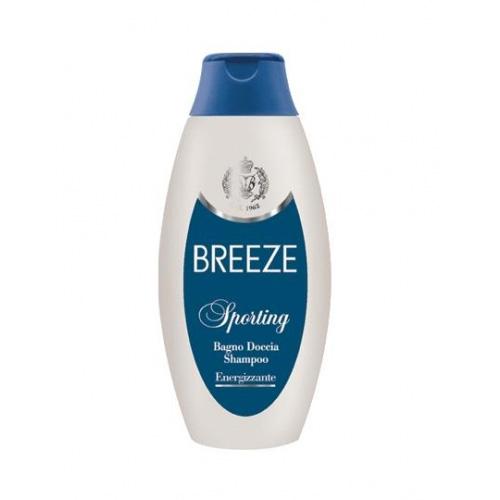 Breeze sporting bagno doccia shampoo energizzante 400 ml
