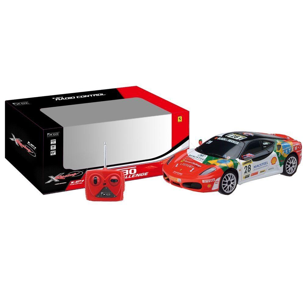 XQ  Ferrari F430 Challenge RC scala 124 078 radiocomandata