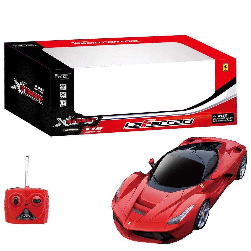 XQ  La Ferrari RC scala 118 radiocomandata