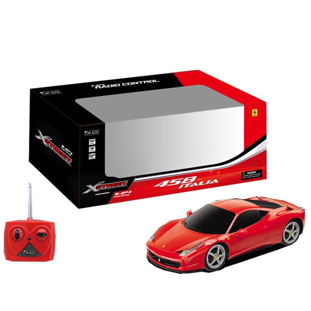XQ  Ferrari 458 Italia RC scala 124 radiocomandata