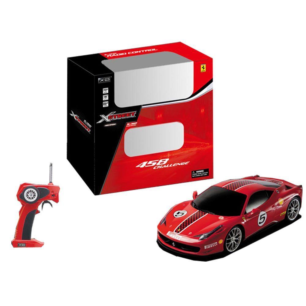 XQ  Ferrari 458 Challenger RC 132 radiocomandata