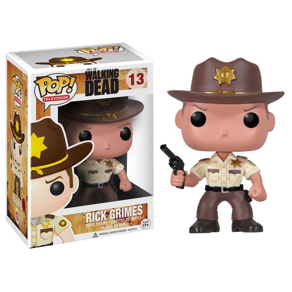 Funko POP The Walking Dead Rick Grimes Personaggio in Vinile