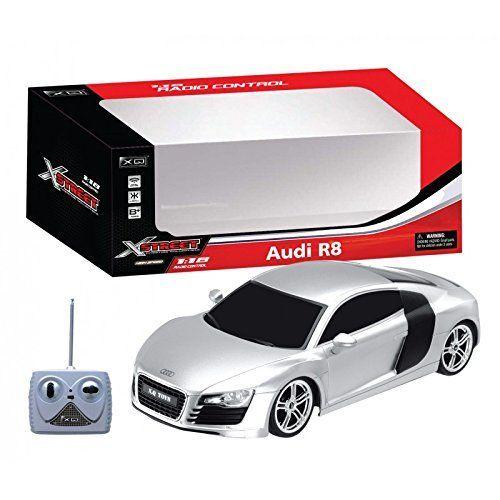 XQ  Audi R8 RC  Scala 118 automobile radiocomandata