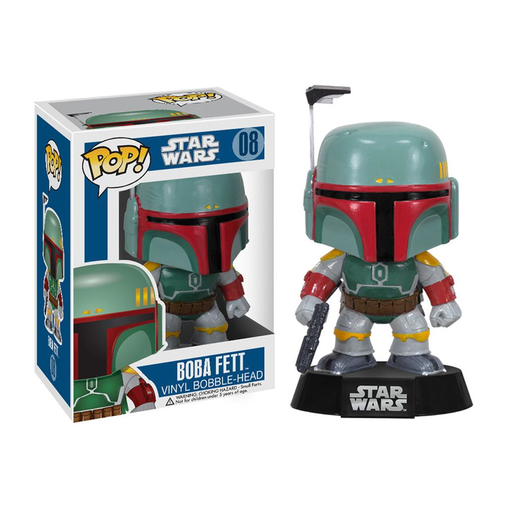 Funko Pop Star Wars Boba Fett Personaggio in Vinile