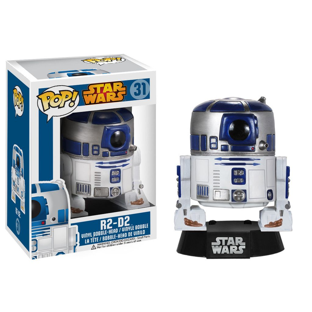 Funko Pop Star Wars R2D2 Personaggio in Vinile