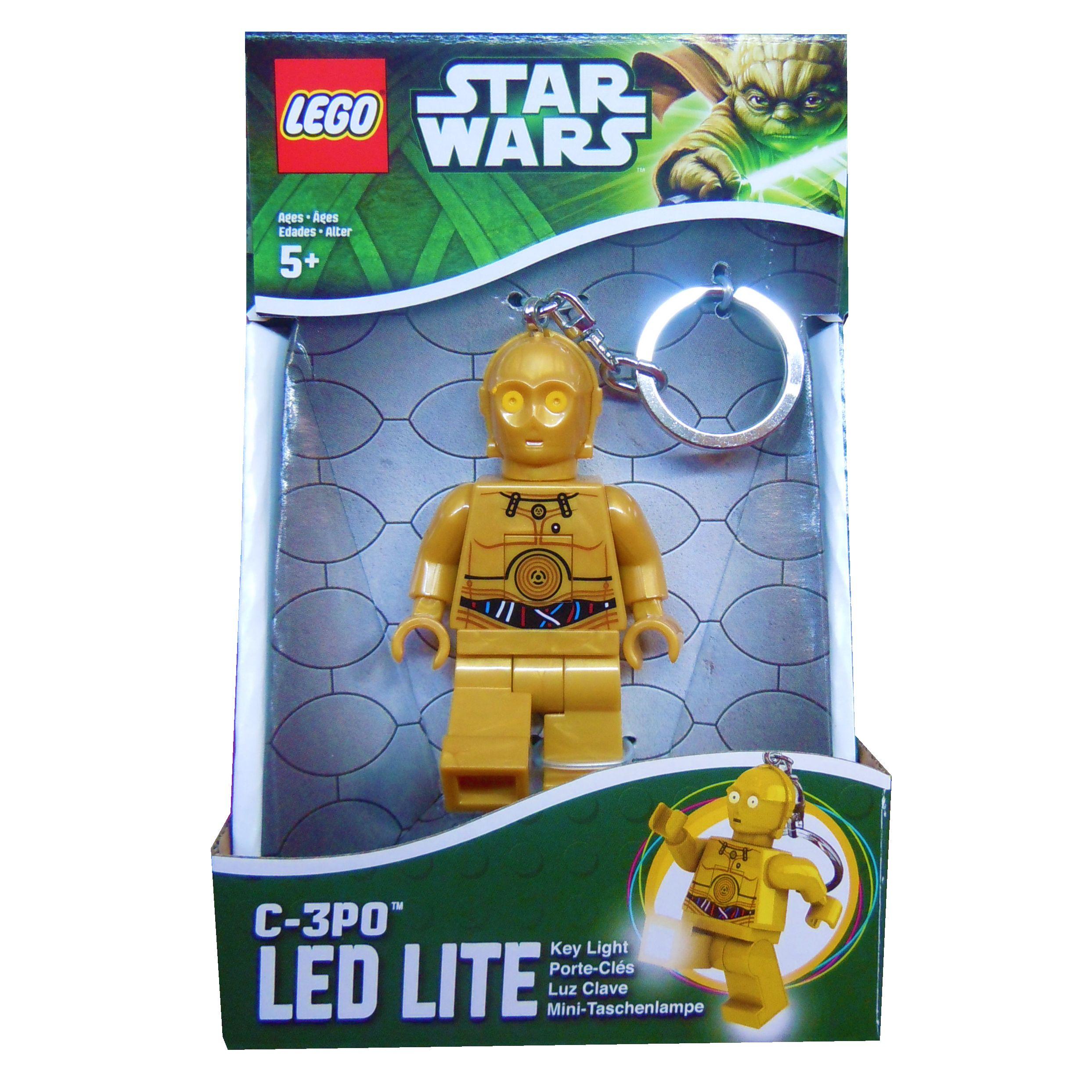 Lego Star Wars C3PO  Portachiavi con Luci
