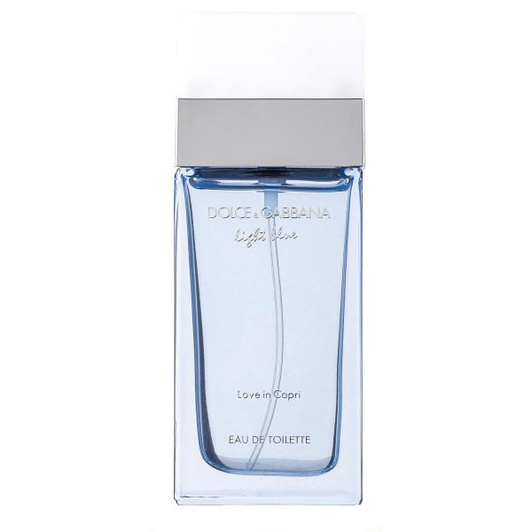 DolceGabbana Light blue pour femme love in capri eau de toilette 100 ml vapo