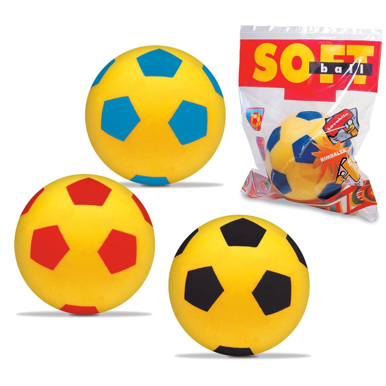 Mondo 07852  Palla da calcio morbida  20 cm Colori assortiti