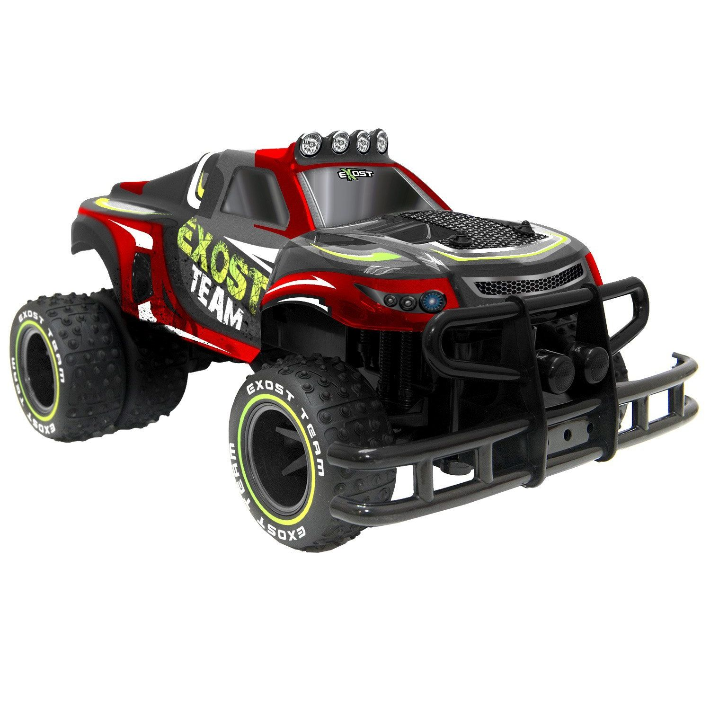 Exost TE121  Super Wheel Truck Radiocomando Scala 110 Rosso