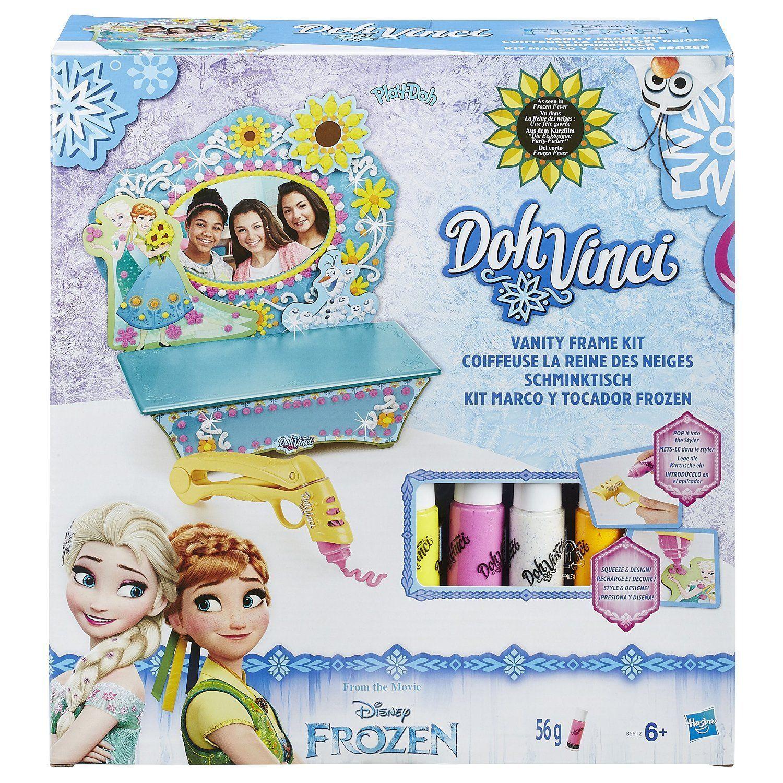 PlayDoh Vinci  Lo Specchio Frozen di Elsa e Anna