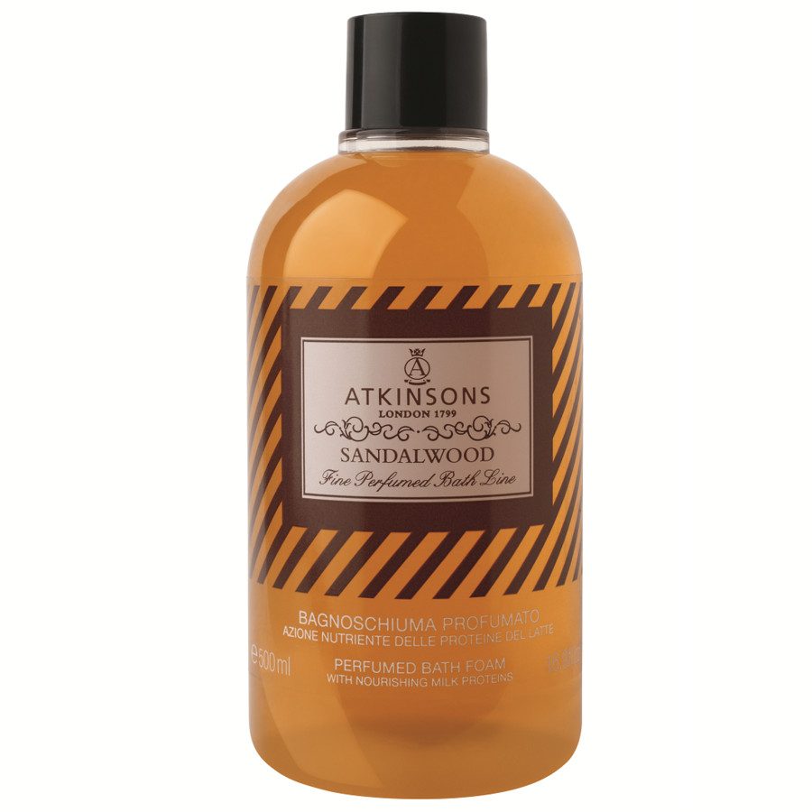 Atkinsons Bagnoschiuma sandalwood 500 ml