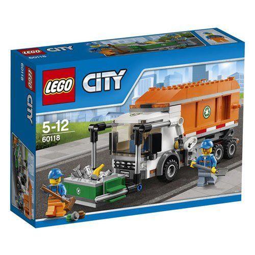 LEGO City Grandi veicoli 60118  Camioncino della Spazzatura