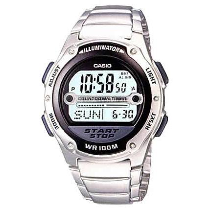 Orologio uomo Casio W756D1A