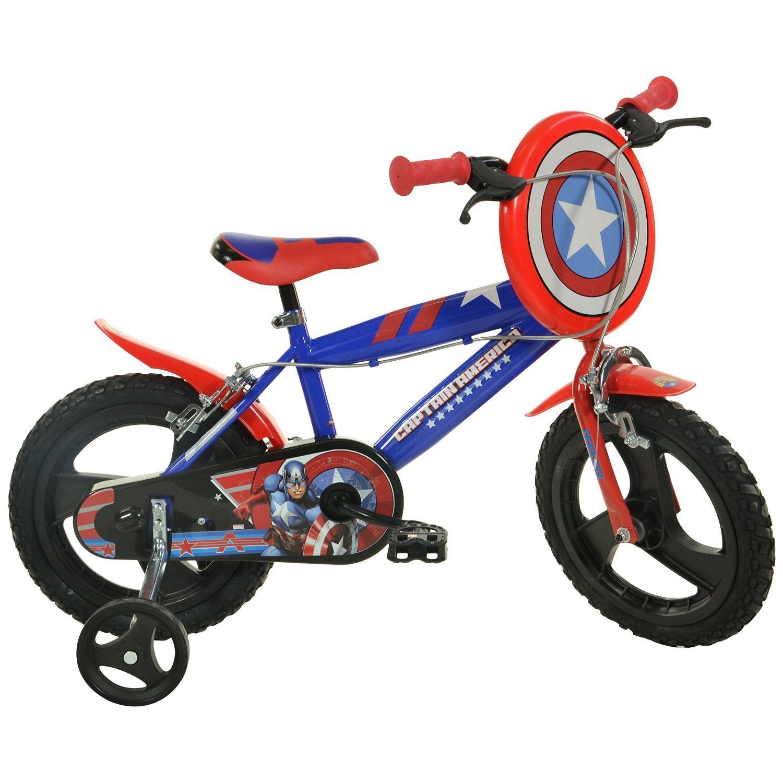 Dino Bikes Bicicletta Captain America 14