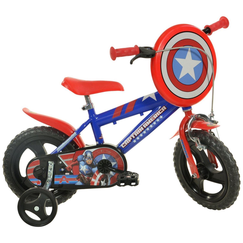 Dino Bikes Bicicletta Captain America 12