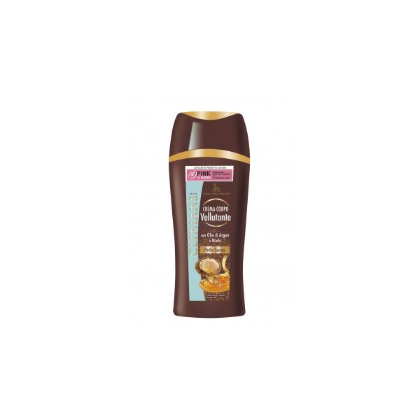 Clinians  Crema corpo vellutante con olio di argan e miele 250 ml