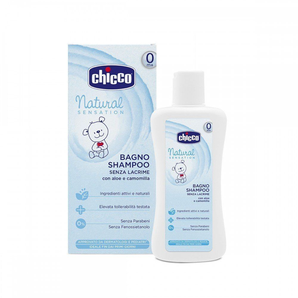 Chicco Natural Sensation Bagno Shampoo senza lacrime 500ml