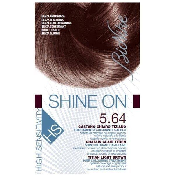 BioNike  Shine On Hs  Tintura Castano Chiaro Tiziano 564