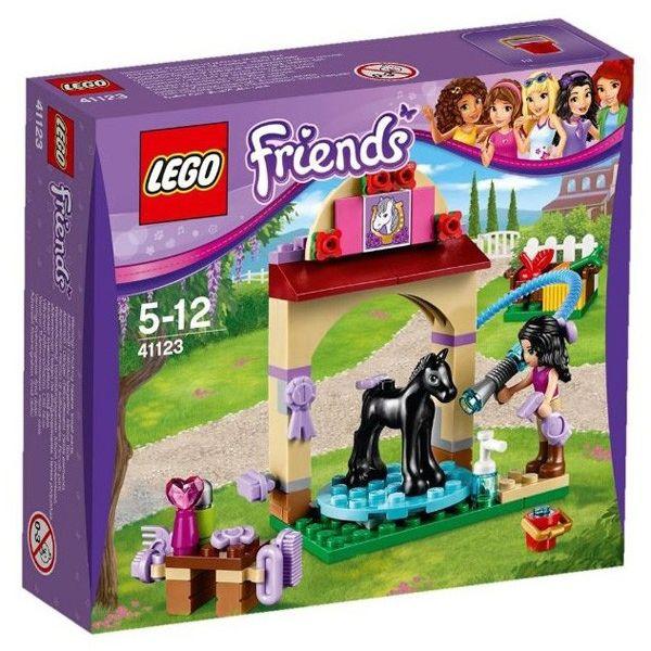 LEGO FRIENDS LA STAZIONE DI LAVAGGIO DEL PULEDRO 41123
