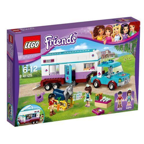 LEGO RIMORCHIO VETERINARIO DEI CAVALLI 41125