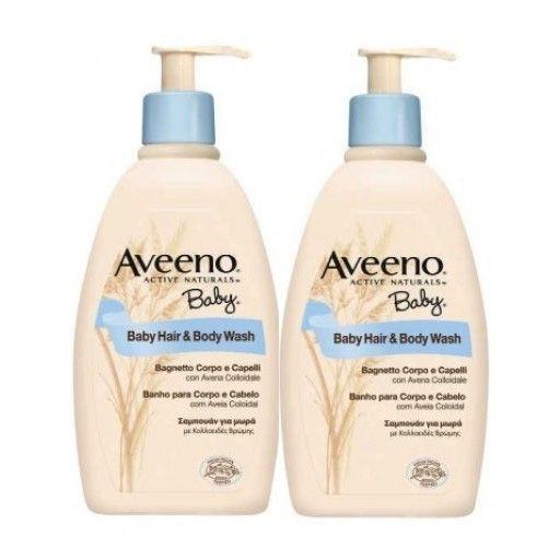 Aveeno Baby Hair  Body Wash Confezione Doppia 300 ml  300 ml