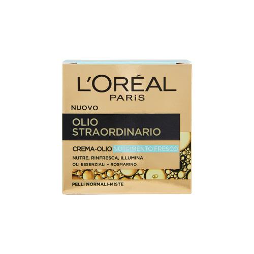 LOreal Paris Olio straordinario cremaolio nutrimento fresco pelli normalimiste 50 ml