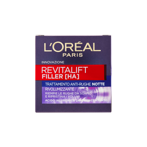 LOreal Paris Revitalift filler ha trattamento antirughe notte 50 ml