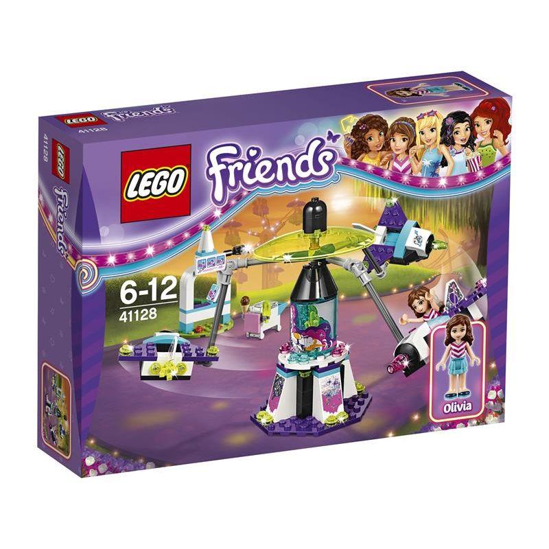 Lego Friends La Giostra Spaziale del Parco Divertimenti 41128