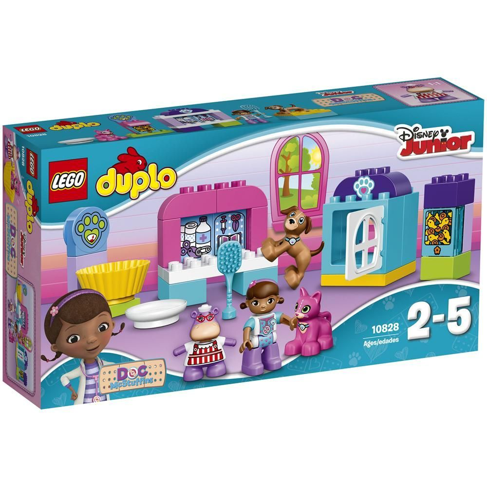 LEGO 10828 Cura Veterinaria della Dottoressa Peluche