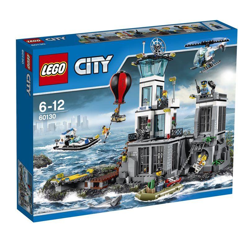 Lego 60130 La caserma della polizia dellisola  Lego City Police