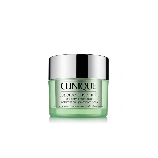 Clinique  Superdefense night 12 drycombination skin  crema viso notte 50 ml