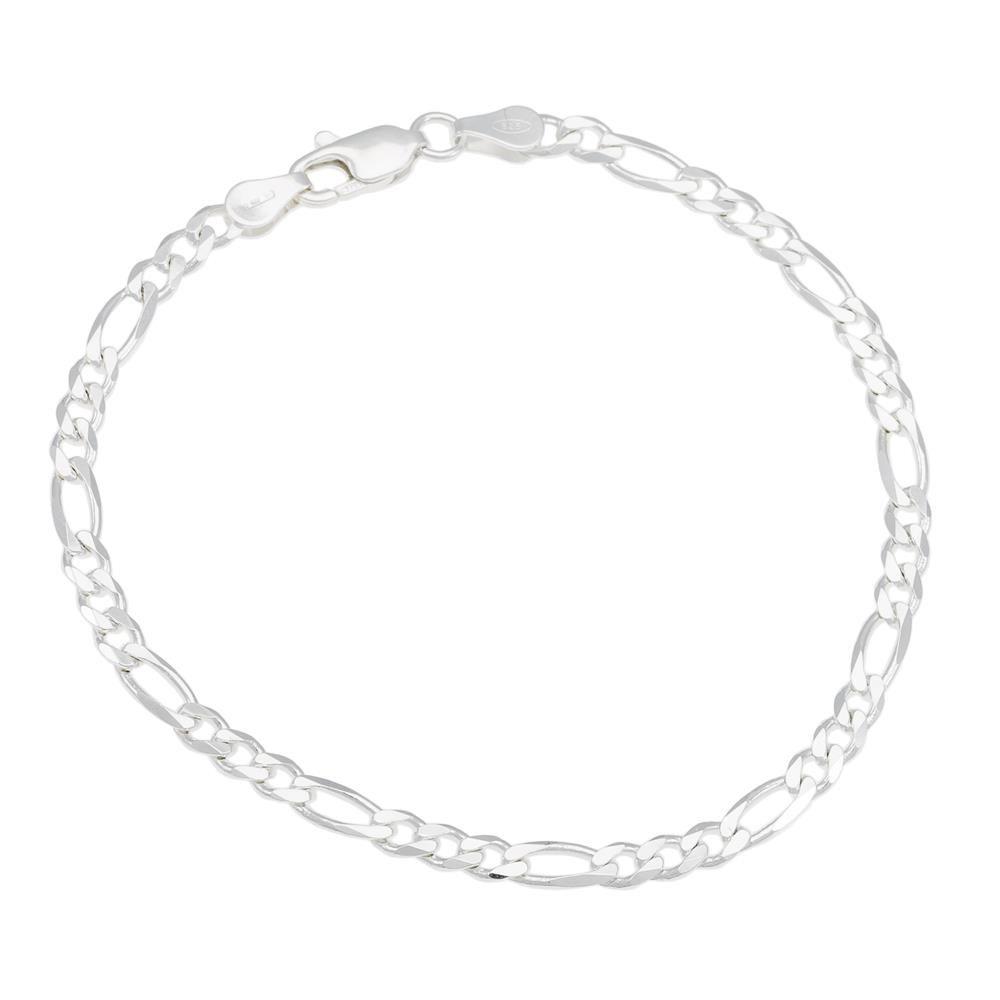 Paclo 16CT03CLBA999 argento ag 925 Bracciale Galvanica Argentata Grumetta 20cm