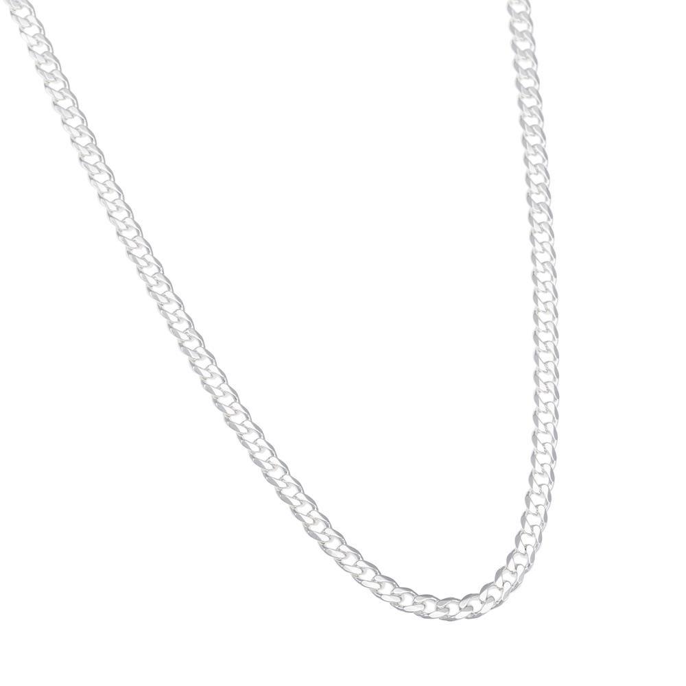 Paclo 16CT18CLNA999 argento ag 925 Collana Galvanica Argentata Grumetta 50cm
